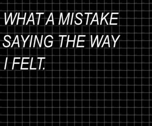 black, mistakes, and quote image