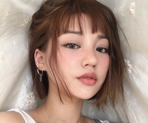 asian, korean, and girl image