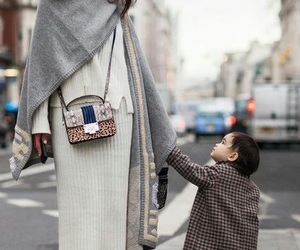 baby girl, mom and daughter, and fashion image