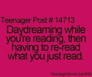 quote, teenager post, and daydreaming image