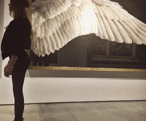 girl, art, and wings image