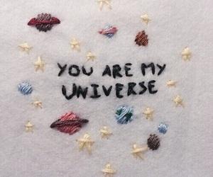 universe, stars, and grunge image