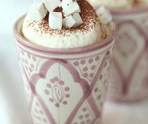 delicious, marshmallow, and cup of cocoa image