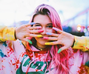 pink, colors, and jessie paege image