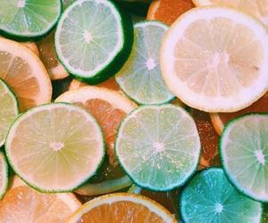orange, fruit, and lemon image