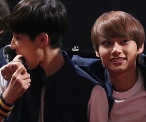 jun, wonwoo, and Seventeen image