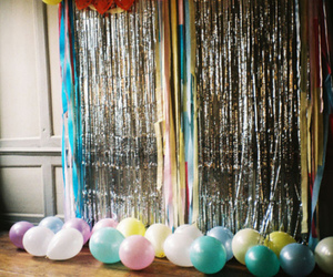 balloons, colors, and party image