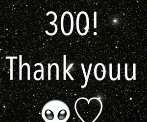300, followers, and love image