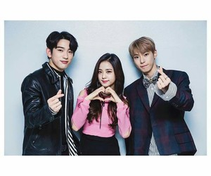 blackpink, jinyoung, and jisoo image