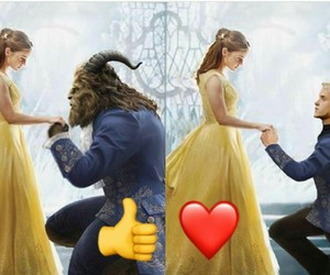 beauty, beauty and the beast, and hermione image