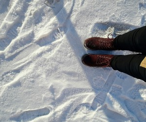 russia, snoe, and shoe image