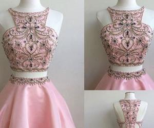pink homecoming dresses image