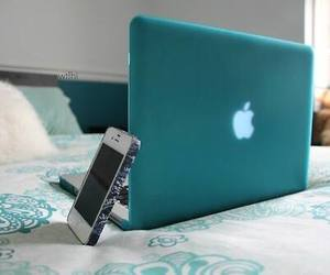 apple, iphone, and blue image