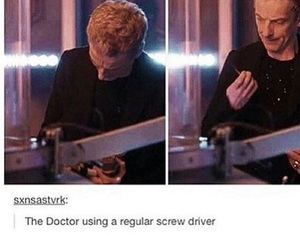 doctor who, funny, and fangirl image
