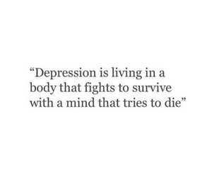 quotes, depression, and sad image