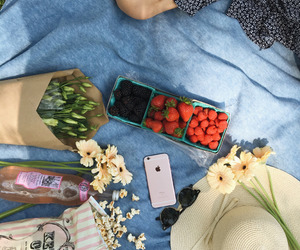 flowers, healthy, and aesthetic image