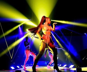 ariana grande, dangerous woman, and dangerous woman tour image