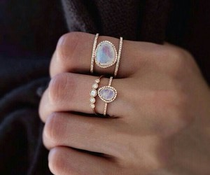 beautiful, fashion, and ring image