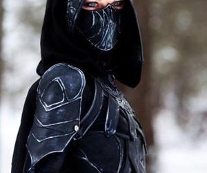 cosplay, black, and fantasy image