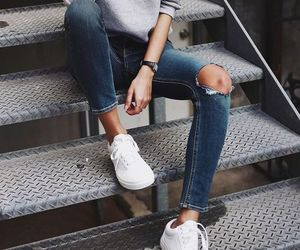 fashion, style, and jeans image
