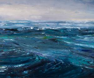 art, landscape, and sea image