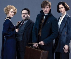 harry potter, magic, and fantastic beasts image