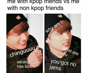 funny, k-pop, and meme image