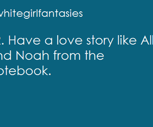 allie, love story, and noah image