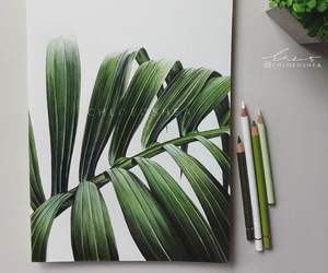 art, drawing, and green image