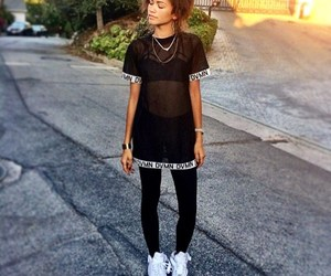 zendaya, black, and swag image