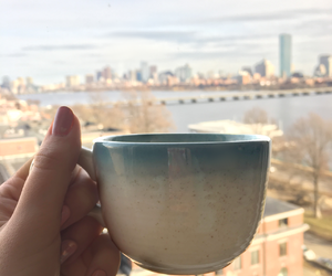 aesthetic, blue, and boston image