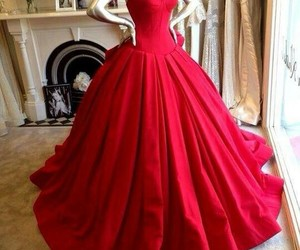 girly, glamoure, and red image