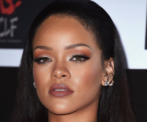 rihanna, riri, and makeup image
