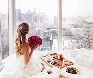 breakfast, city, and luxury image