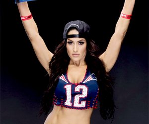 super bowl, the bella twins, and nikki bella image