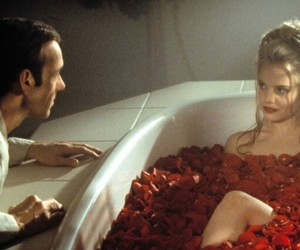 american beauty, movie, and rose image