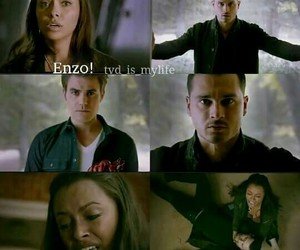 the vampire diaries and enzo image