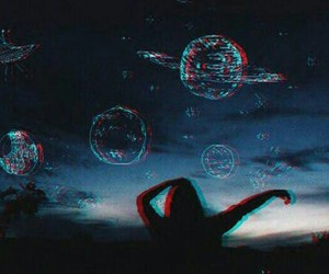 sky, planet, and tumblr image