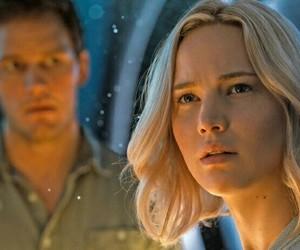 Jennifer Lawrence, passengers, and chris pratt image