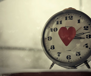 love, time, and heart image