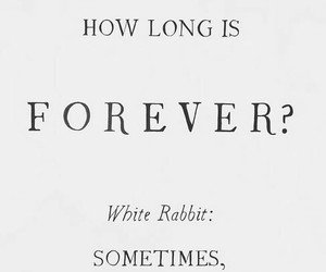 quotes, forever, and alice image
