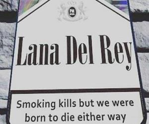 smoking, lana del rey, and quotes image