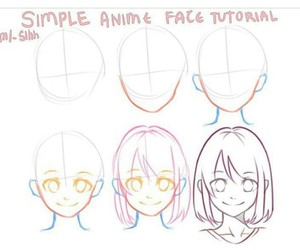 basic, face, and how to draw image