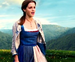 beauty and the beast, emma watson, and actress image