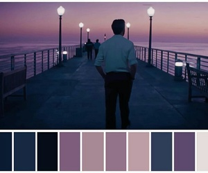 color, movie, and la la land image
