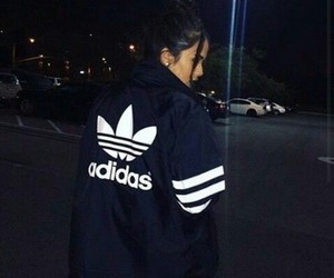 adidas, girls, and fashion image