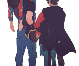 DC, superboy, and teen titans image