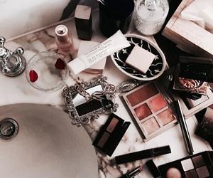 cosmetics, makeup, and luxury image