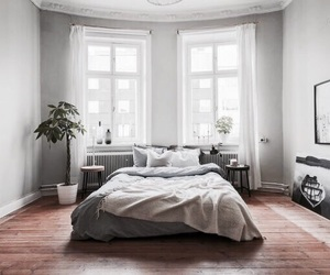 interior, bedroom, and house image