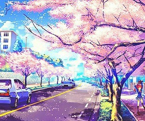 anime, japan, and anime scenery image